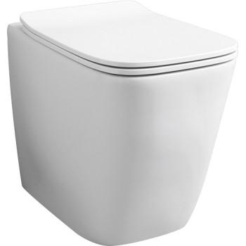 Унитаз приставной ArtCeram A16 , цвет белый