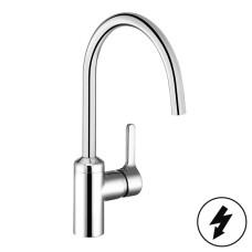 KLUDI BINGO STAR Смеситель для кухни, поворотный излив, для безнапорных водонагревателей, 428090578