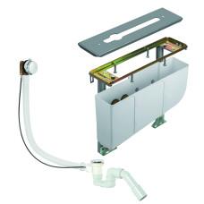 Монтажный блок для смесителя на 3 отверстия, 7880205-00