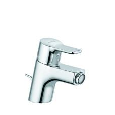 KLUDI PURE&EASY Однорычажный смеситель на биде, c донным клапаном, 375330565