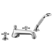 KLUDI ADLON Смеситель для ванны и душа на 4 отверстия, 515250520