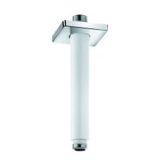KLUDI A-QA Потолочный кронштейн, 150 мм, квадратный отражатель, белый/хром, 6653591-00
