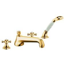 KLUDI ADLON Смеситель для ванны и душа на 4 отверстия, 515254520
