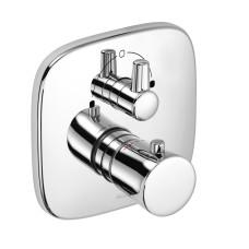 KLUDI AMBIENTA Встраиваемый смеситель для ванны и душа с термостатом, 538300575