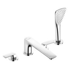 KLUDI AMEO Однорычажный смеситель для ванны и душа на 4 отверстия, 414240575