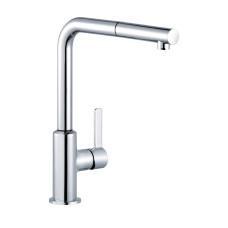KLUDI L-INE S Однорычажный кухонный смеситель , с выдвижным изливом, 408510575